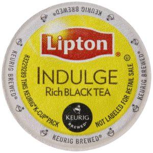 Lipton K-Cup Packs, Indulge Black Tea, 24 Count