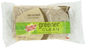 Scotch-Brite Greener Clean Non-Scratch Scrub Sponges, 2-Count