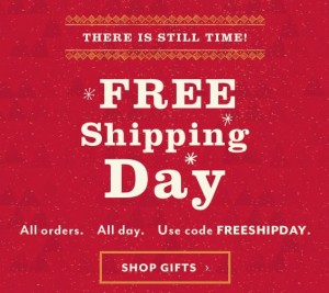 dayspring free shipping day