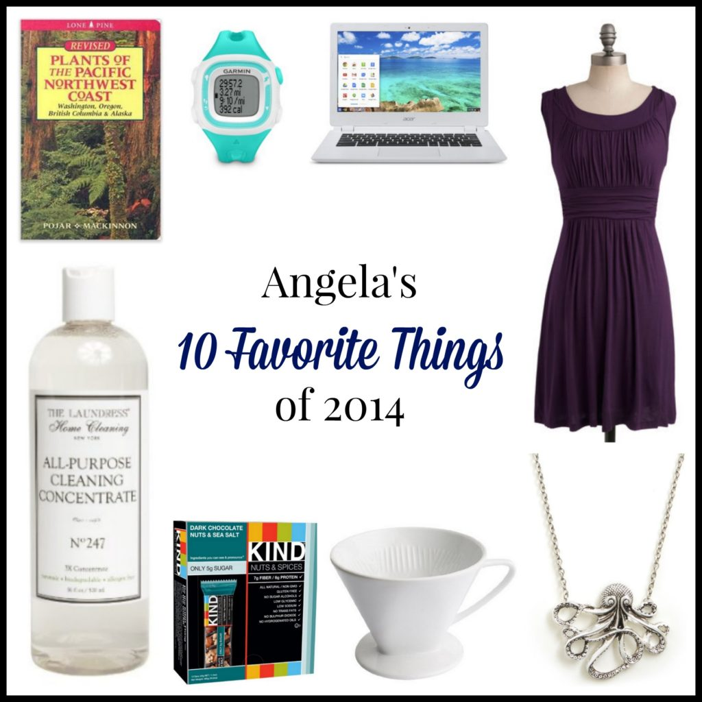 Angela's 10 Favorite Things for 2014