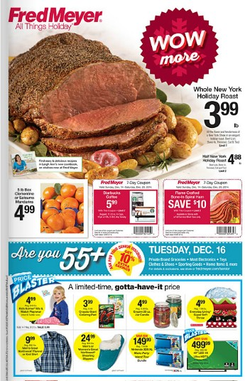 Fred Meyer Ad - 12/14