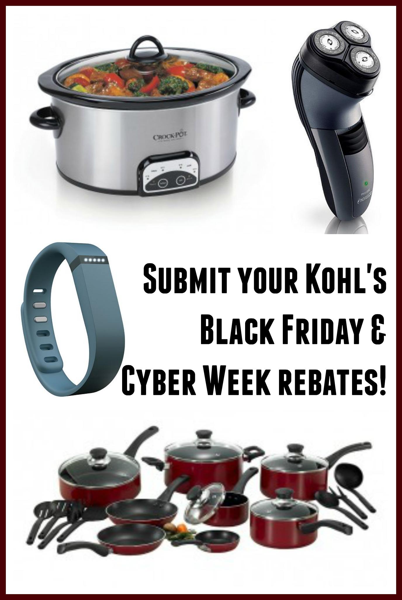Kohl\'s Rebates: Kitchenaid, Crockpot, Cuisinart, More
