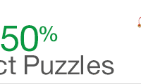 Amazon Gold Box Deal: 50% off select puzzles (Ravensburger, Melissa & Doug + more!)