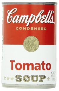 Campbell's Condensed Soup, Tomato, 10.75 Ounce (Pack of 6)