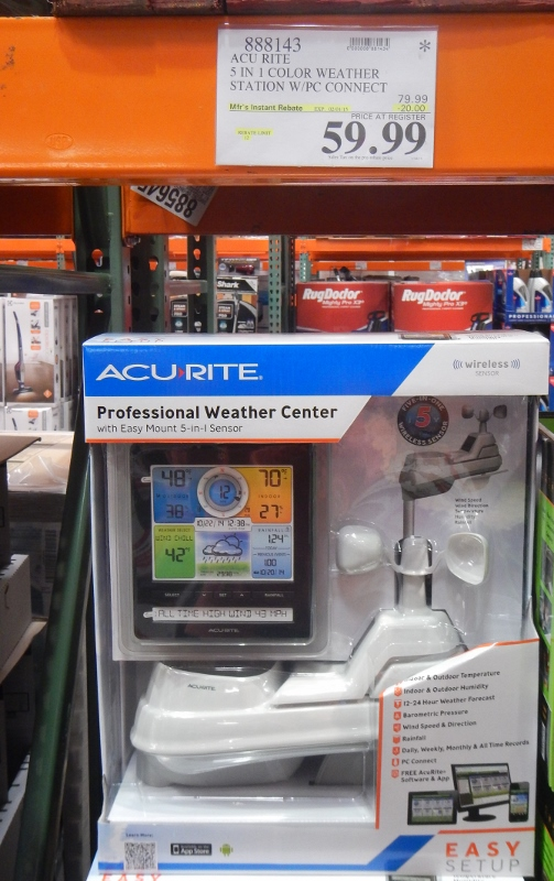 WEather Center at Costco