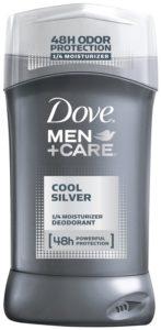 Dove Men+Care Cool Silver Deodorant, 3.0 oz.