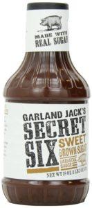 Kraft Garland Jack's BBQ Sauce, Sweet Brown Sugar, 18 Ounce (Pack of 6)