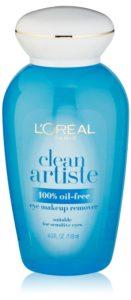L'Oreal Paris Clean Artiste Eye Makeup Remover, 4.0 Ounces
