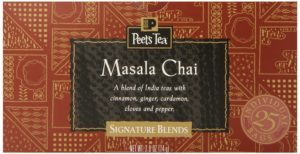 Peet's Coffee and Tea Teabags, Masala Chai, 25 Count