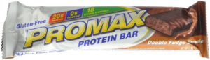 Promax Protein Bar, Double Fudge Brownie, 2.64 Ounce, 12-pack