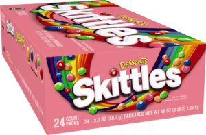 Skittles Candy, Desserts, 2 Ounce (Pack of 24)