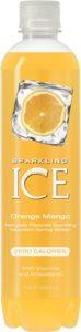 Sparkling ICE Spring Water, Orange Mango, 17-Ounce Bottles (Pack of 12)