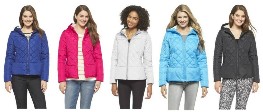 Target women's quilted jacket