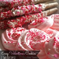 Easy Valentine's Cookies {Two Recipes}