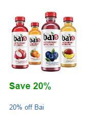 Bai Amazon coupon
