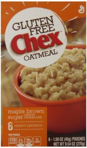 Chex Gluten Free Oatmeal, Maple Brown Sugar, 9.54 Ounce (Pack of 2)
