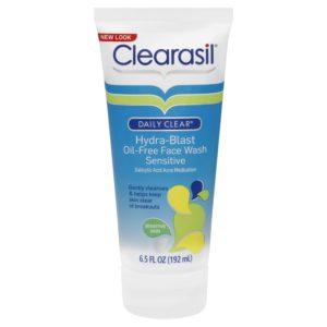 Clearasil Clearasil Daily Clear Sensitive Acne Face Wash and Hydra-blast Oil-Free Sensitive Face Wash Set 6.5OZ