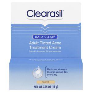 Clearasil Daily Clear Tinted Adult Treatment Cream 0.65 OZ