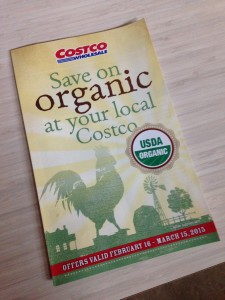 Costco Organic Coupon Deals Booklet
