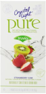 Crystal Light Pure, Strawberry Kiwi, 7-Count, 2.17 Ounce(Pack of 6)