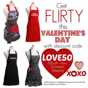 Flirty Aprons Valentine's Day