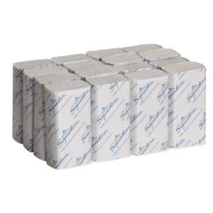 Georgia-Pacific Signature 21000 White 2-Ply Premium Multifold Paper Towel, 9.4 Length x 9.2 Width (Case of 16 Packs, 125 per Pack)