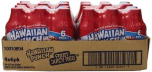 Hawaiian Punch, Fruit Juicy Red, 10-Ounce Bottles (Pack of 24)