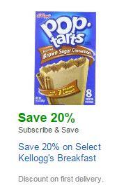 Kellogg's breakfast Amazon coupon