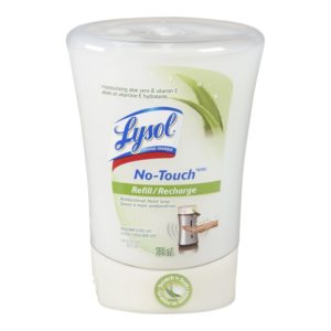 Lysol No-Touch Automatic Hand Soap, Aloe, 1 Refill, 8.5 Ounce (Pack of 2)