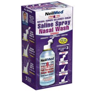 Neil Med Nasa Mist Multi Purpose Saline Spray All in One, 6.0 ounces Unit