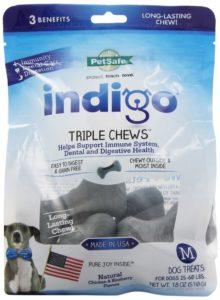 PetSafe indigo Triple Chews Dog Treat