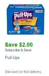 Pull-Ups Amazon coupon
