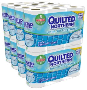 Quilted Northern Ultra Soft and Strong Bath Tissue, 48 Double Rolls