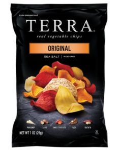 TERRA Original, Sea Salt, 1 Ounce (Pack of 24)