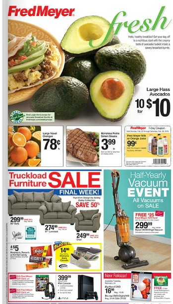 Fred Meyer Coupon Deals 2/22 - 2/28
