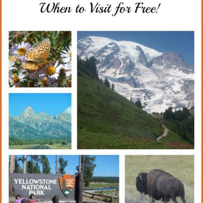 Free National Parks Entrance Days – for 2018