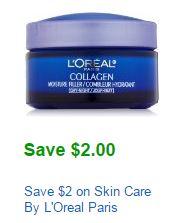 L'Oreal Skin Care coupon