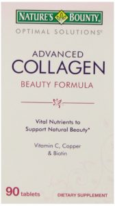Nature's Bounty Advanced Collagen Tablets, 90-Count