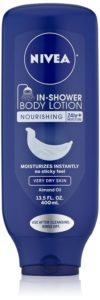 Nivea Body In-Shower Nourishing Body Lotion for Very Dry Skin, 13.5 Fluid Ounce