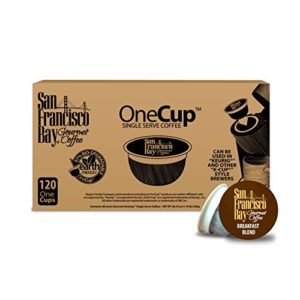 San Francisco Bay OneCup, Breakfast Blend, 120 Single Serve Coffees