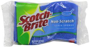 Scotch-Brite Multi-Purpose Scrub Sponge 521, 1-Count (Pack of 12)