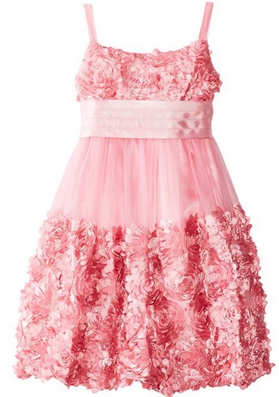 Easter Dress Pink Bubble