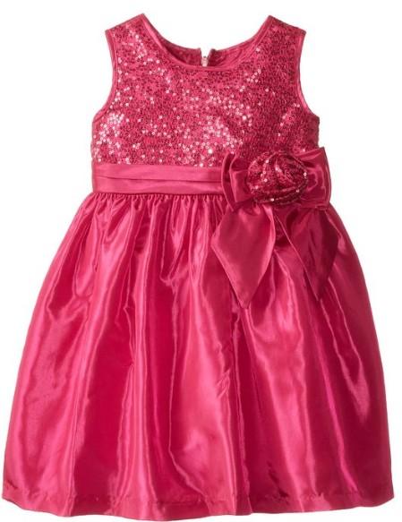 Easter Dress Sequin Taffeta