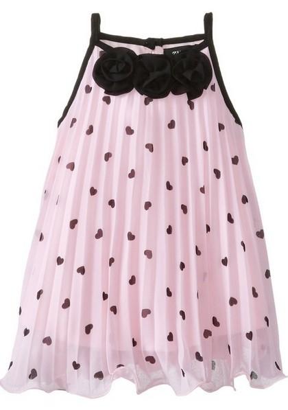 Easter Dress Pleated Shift Dress