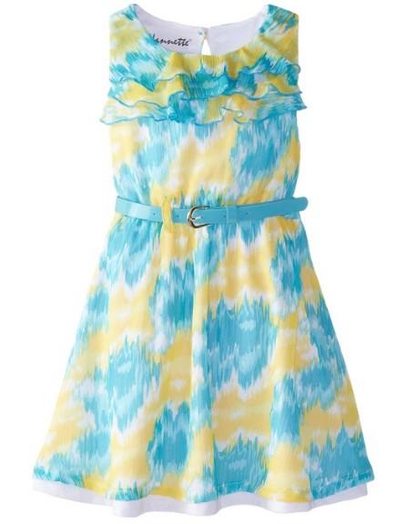 Easter Dress Chiffon with Belt
