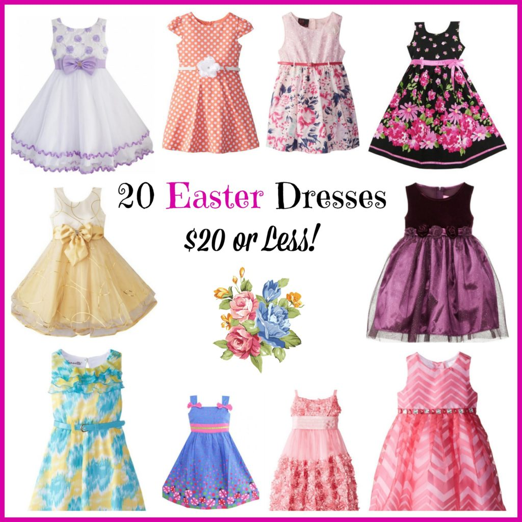20 Easter Dresses $20 or Less