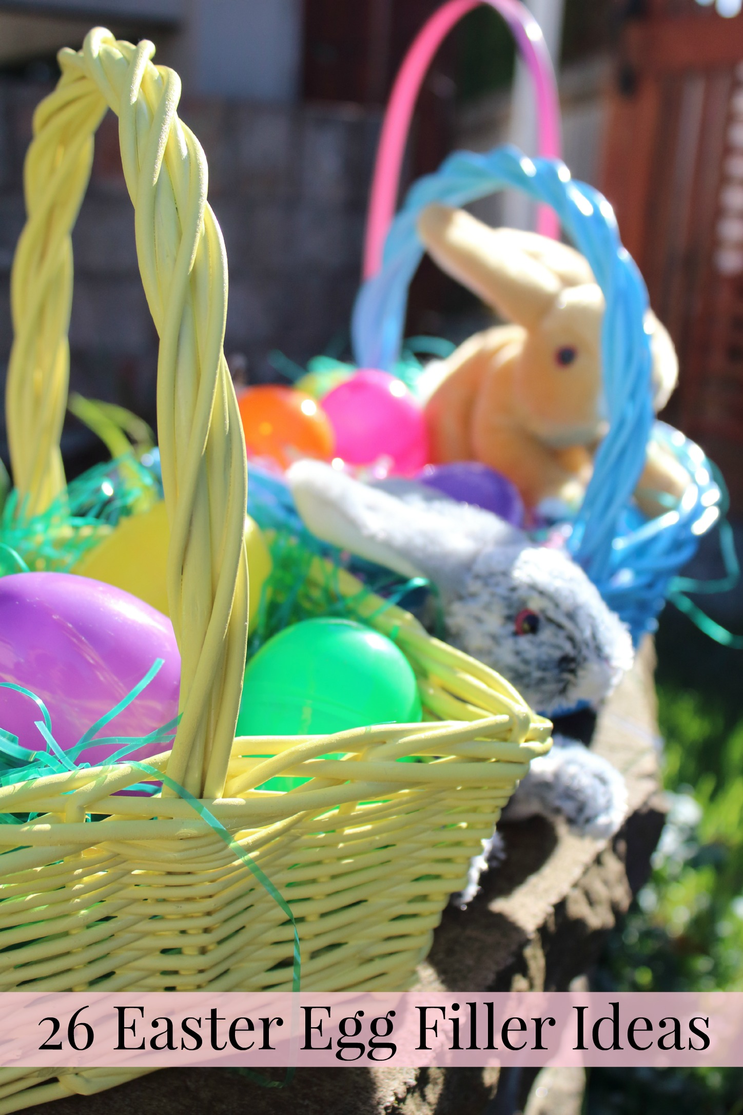 26 Easter Egg Filler Ideas {Hint: most aren't candy!}