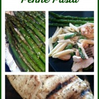 Grilled Chicken & Asparagus Penne Pasta Recipe