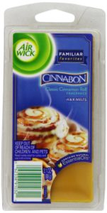 Air Wick Scented Candles Wax Melts, Familiar Favorites Collection, Cinnabon Classic Cinnamon Roll Scent, 3.1 Ounce