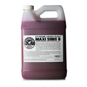 Chemical Guys CWS1010 Maxi-Suds II Super Suds Car Wash Soap and Shampoo, Grape Scent - 1 gal.